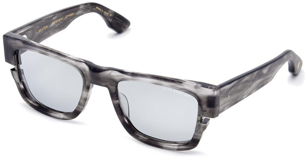 DITA   DTS-122 03 Medium Grey - ARMatte Crystal Grey Swirl - White Gold
