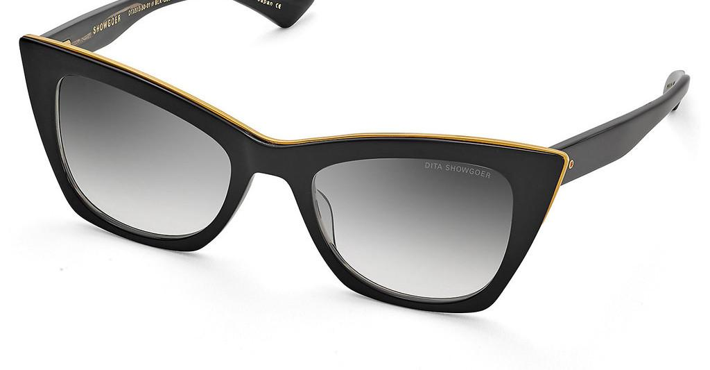DITA   DTS-513 01 Dark Grey to Clear - ARBlack - Black Swirl - Yellow Gold