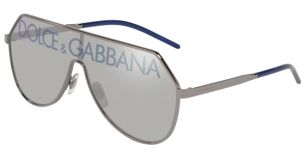 Dolce & Gabbana   DG2221 04/N GRADIENT BROWN MIRROR GOLDGUNMETAL