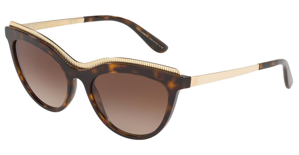 Dolce & Gabbana   DG4335 502/13 BROWN GRADIENT DARK BROWNHAVANA