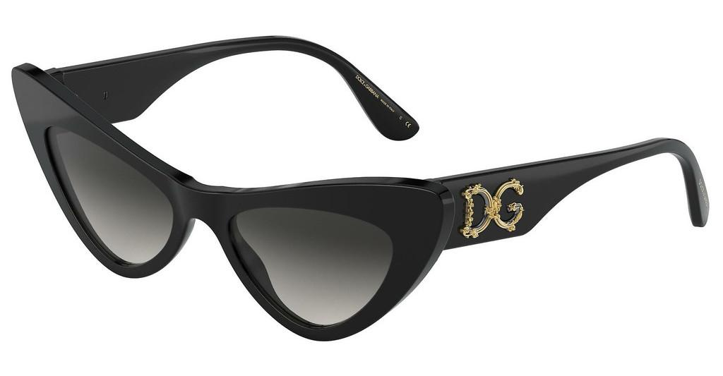 Dolce & Gabbana   DG4368 501/8G LIGHT GREY GRADIENT BLACKBLACK