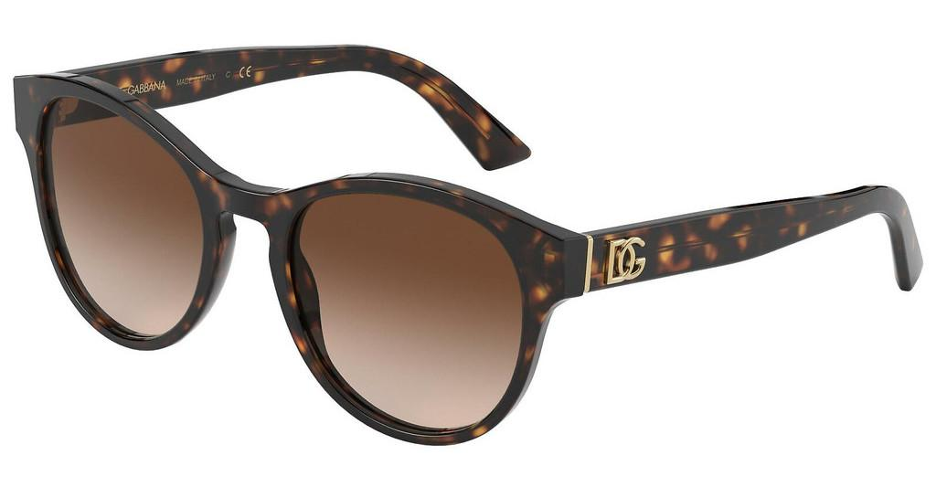 Dolce & Gabbana   DG4376 502/13 BROWN GRADIENT DARK BROWNHAVANA