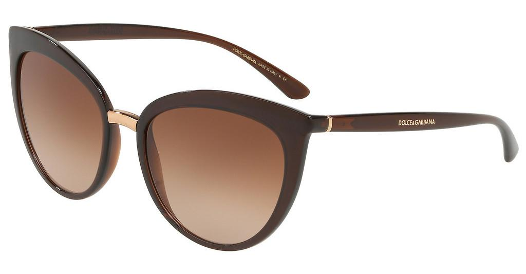 Dolce & Gabbana   DG6113 315913 BROWN GRADIENTTRANSPARENT BROWN