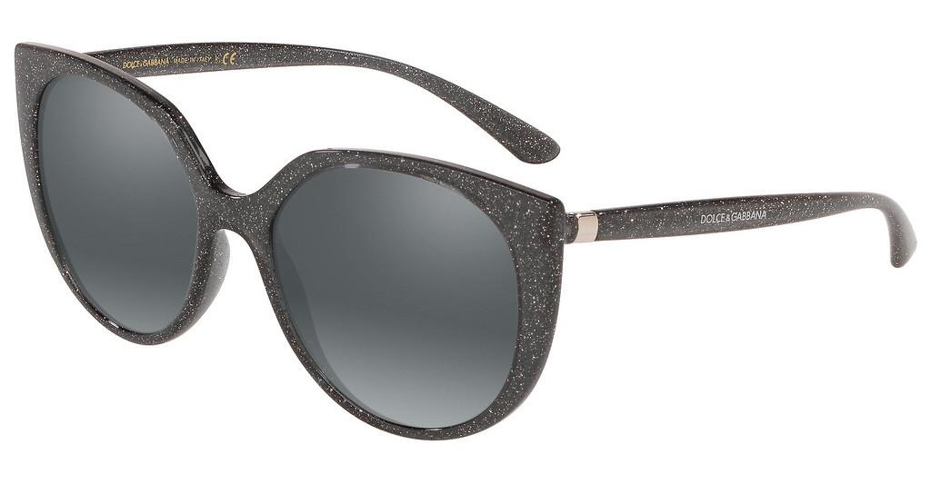 Dolce & Gabbana   DG6119 324188 BROWN GRADIENT DARK BROWNTRANSP GREY GLITTER SILVER