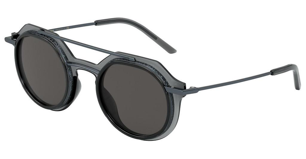 Dolce & Gabbana   DG6136 325587 DARK GREYTRANSPARENT DARK GREY