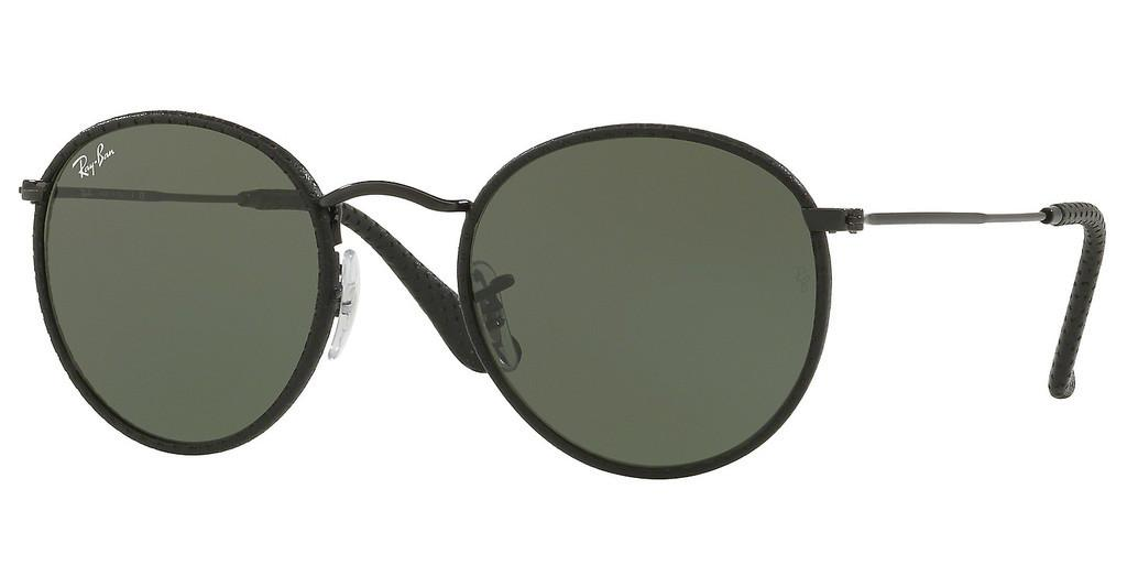 Ray-Ban   RB3475Q 9040 GREENLEATHER BLACK