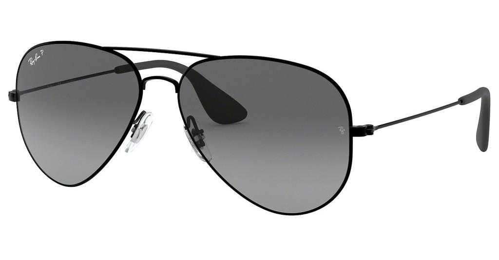 Ray-Ban   RB3558 002/T3 GREY GRADIENT POLARBLACK