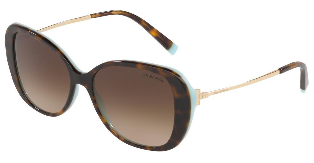 Tiffany   TF4156 81343B BROWN GRADIENTHAVANA/BLUE