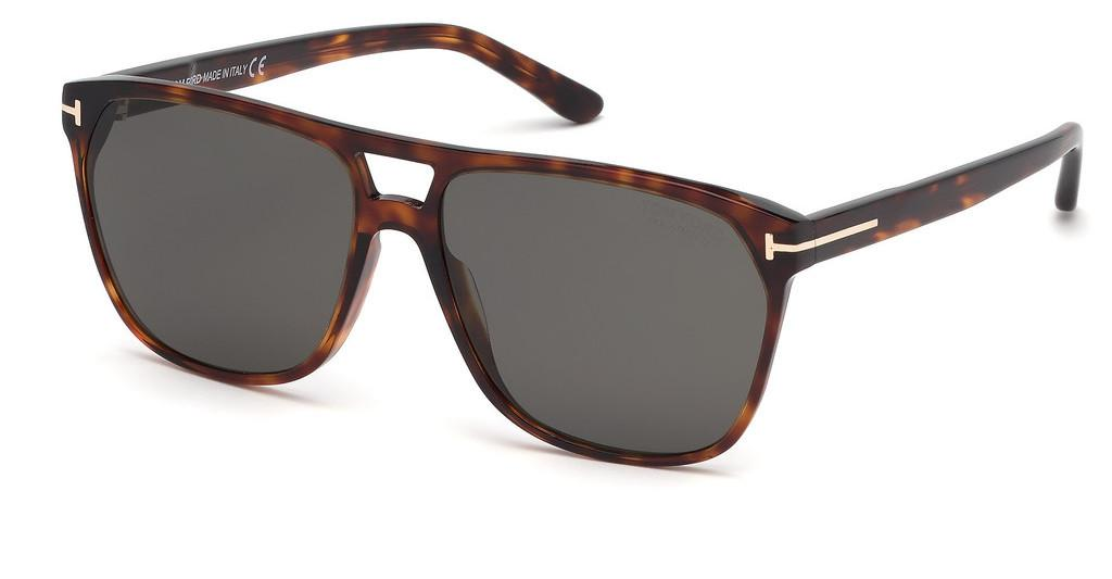 Tom Ford   FT0679 54D grau polarisierendhavanna rot