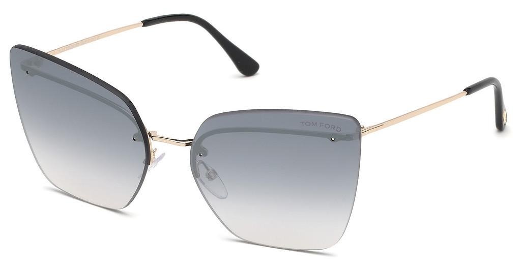 Tom Ford   FT0682 28C grau verspiegeltrosé