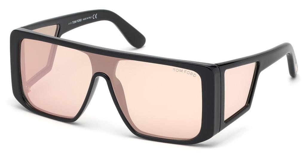 Tom Ford   FT0710 01Z verspiegeltschwarz glanz
