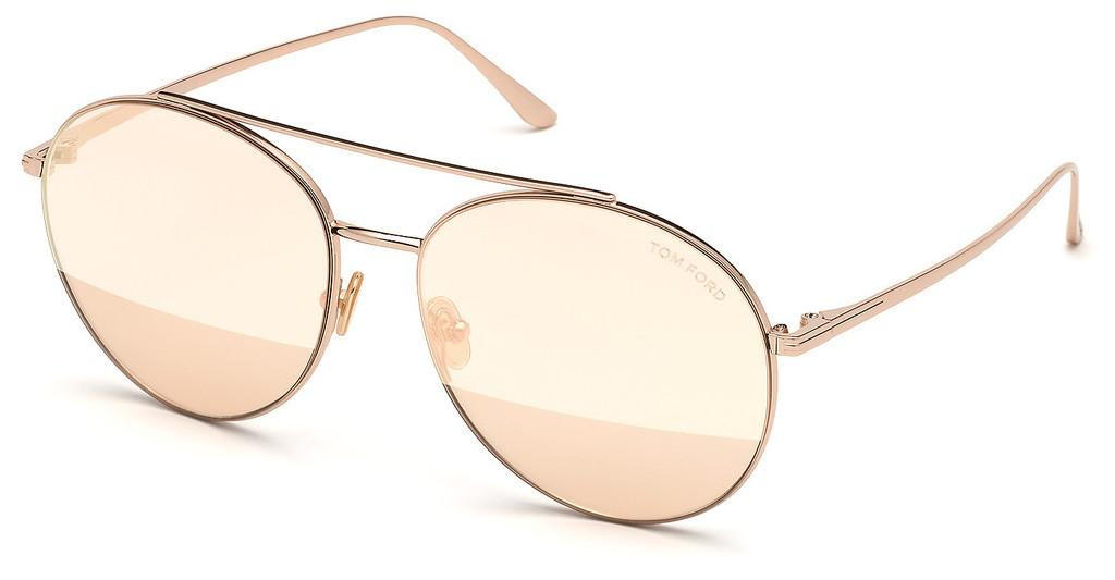 Tom Ford   FT0757 28Z verspiegeltrosé
