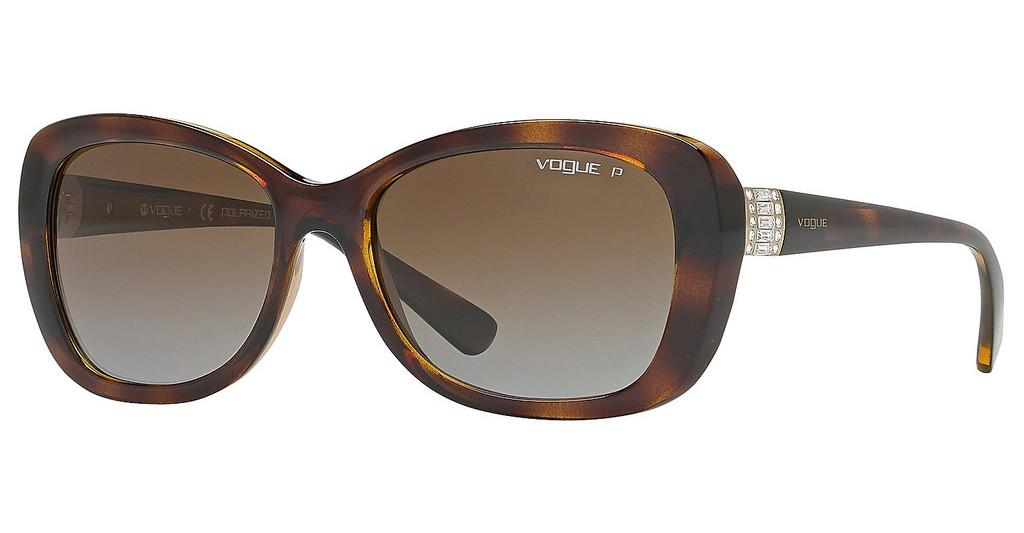 Vogue   VO2943SB W656T5 BROWN GRADIENT POLARDARK HAVANA