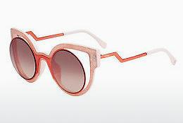 Solglasögon Fendi FF 0137/S NUG/4C - Orange, Rosa