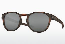 Solglasögon Oakley LATCH (OO9265 926522) - Brun, Havanna