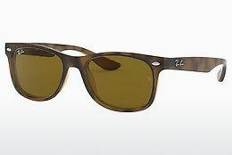 Solglasögon Ray-Ban Junior Junior New Wayfarer (RJ9052S 152/3) - Brun, Havanna