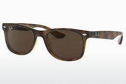 Solglasögon Ray-Ban Junior Junior New Wayfarer (RJ9052S 152/73) - Brun, Havanna