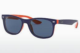 Solglasögon Ray-Ban Junior Junior New Wayfarer (RJ9052S 178/80) - Blå
