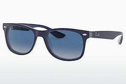 Solglasögon Ray-Ban Junior Junior New Wayfarer (RJ9052S 70234L) - Blå, Transparent