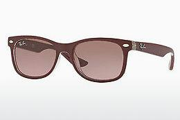 Solglasögon Ray-Ban Junior Junior New Wayfarer (RJ9052S 702414) - Röd, Transparent