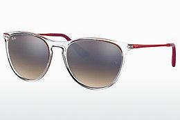 Solglasögon Ray-Ban Junior RJ9060S 7032B8 - Vit, Transparent
