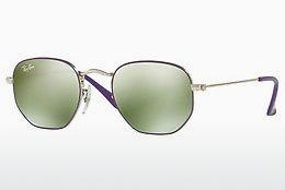 Solglasögon Ray-Ban Junior JUNIOR HEXAGONAL (RJ9541SN 262/30) - Silver, Purpur