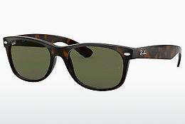 Solglasögon Ray-Ban NEW WAYFARER (RB2132 902) - Brun, Havanna