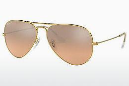 Solglasögon Ray-Ban AVIATOR LARGE METAL (RB3025 001/3E) - Guld
