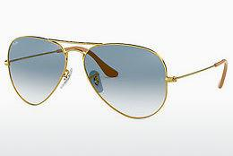 Solglasögon Ray-Ban AVIATOR LARGE METAL (RB3025 001/3F) - Guld