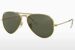 Solglasögon Ray-Ban AVIATOR LARGE METAL (RB3025 001/58) - Guld