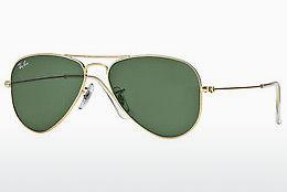 Solglasögon Ray-Ban AVIATOR SMALL METAL (RB3044 L0207) - Guld