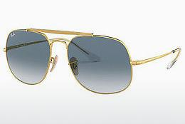Solglasögon Ray-Ban The General (RB3561 001/3F) - Guld
