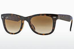 Solglasögon Ray-Ban FOLDING WAYFARER (RB4105 710/51) - Brun, Havanna