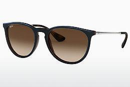 Solglasögon Ray-Ban ERIKA (RB4171 631513) - Transparent, Brun, Blå