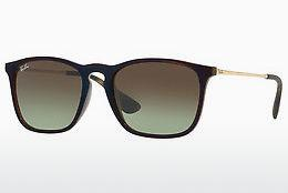 Solglasögon Ray-Ban CHRIS (RB4187 6315E8) - Transparent, Brun, Blå