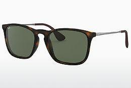 Solglasögon Ray-Ban CHRIS (RB4187 710/71) - Brun, Havanna