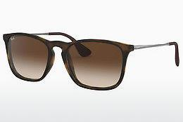 Solglasögon Ray-Ban CHRIS (RB4187 856/13) - Brun, Havanna
