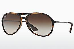 Solglasögon Ray-Ban ALEX (RB4201 865/13) - Brun, Havanna