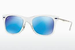 Solglasögon Ray-Ban RB4210 646/55 - Vit, Transparent