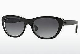 Solglasögon Ray-Ban RB4227 60528G - Svart, Transparent
