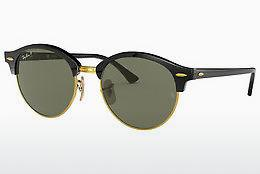 Solglasögon Ray-Ban CLUBROUND (RB4246 901/58) - Svart