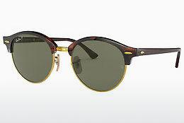 Solglasögon Ray-Ban CLUBROUND (RB4246 990/58) - Brun, Havanna