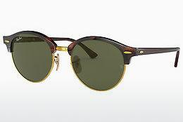 Solglasögon Ray-Ban Clubround (RB4246 990) - Brun, Havanna