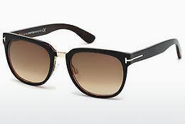 Solglasögon Tom Ford Rock (FT0290 01F) - Svart, Shiny