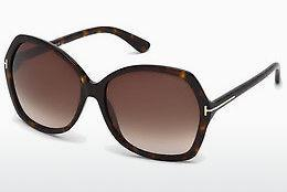 Solglasögon Tom Ford Carola (FT0328 52F) - Brun, Dark, Havana