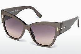 Solglasögon Tom Ford Anoushka (FT0371 38B) - Brons