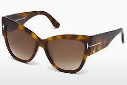 Solglasögon Tom Ford Anoushka (FT0371 53F) - Havanna, Yellow, Blond, Brown