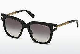Solglasögon Tom Ford Tracy (FT0436 01B) - Svart, Shiny