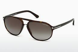 Solglasögon Tom Ford Jacob (FT0447 52B) - Brun, Dark, Havana