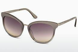 Solglasögon Tom Ford Emma (FT0461 59B) - Beige/grå, Beige, Brown